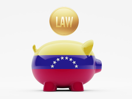 prosecution: Venezuela High Resolution Law Concept Stock Photo