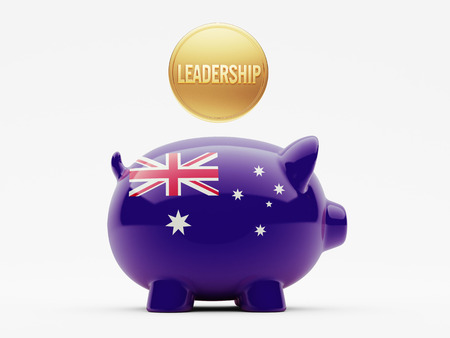 australian money: Australia High Resolution Leadership Concept