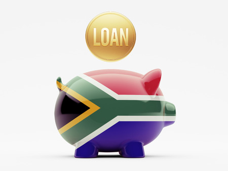 South Africa High Resolution Loan Concept photo