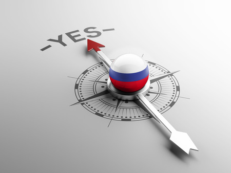 assent: Russia High Resolution Yes Concept
