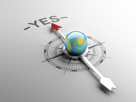 affirmative: Kazakhstan High Resolution Yes Concept