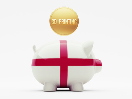England High Resolution 3d Printing Concept photo