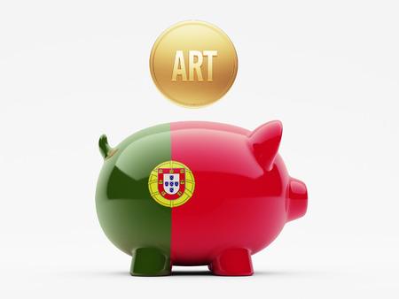 Portugal High Resolution Art Concept photo
