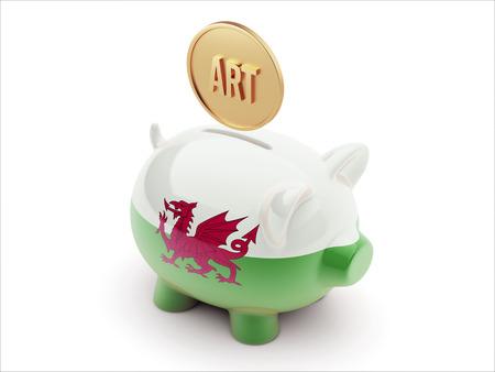 artistry: Wales High Resolution Art Concept High Resolution Piggy Concept