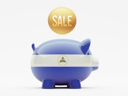 Nicaragua High Resolution Sale Concept photo