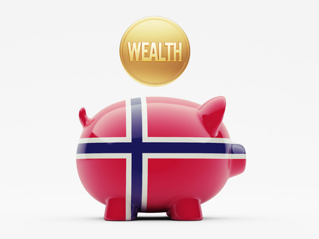 Norway High Resolution Wealth Concept Stock Photo