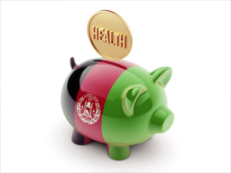 Afghanistan  High Resolution Health Concept High Resolution Piggy Concept photo