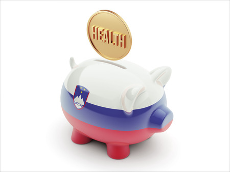 Slovenia High Resolution Health Concept High Resolution Piggy Concept photo