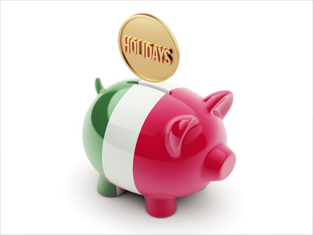 recess: Italy High Resolution Holidays Concept High Resolution Piggy Concept