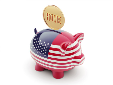 United States High Resolution Home Concept High Resolution Piggy Concept photo