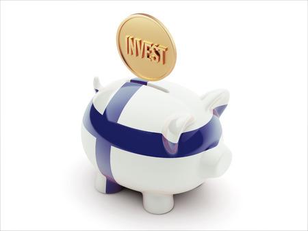 strategist: Finland High Resolution Invest Concept High Resolution Piggy Concept