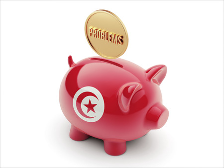 rectify: Tunisia High Resolution Problems Concept High Resolution Piggy Concept