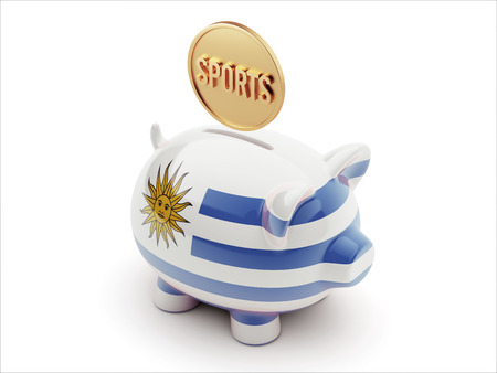 Uruguay High Resolution Sports Concept High Resolution Piggy Concept photo