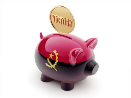 angola: Angola High Resolution Piggy Concept