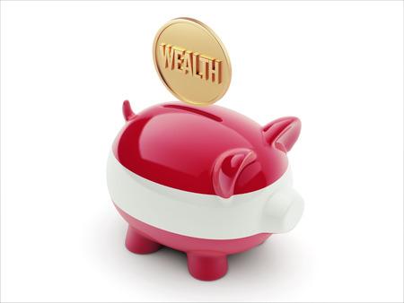Austria High Resolution Wealth Concept High Resolution Piggy Concept
