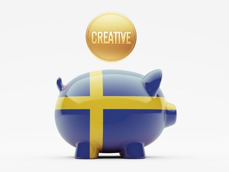 education in sweden: Sweden High Resolution Creative Concept