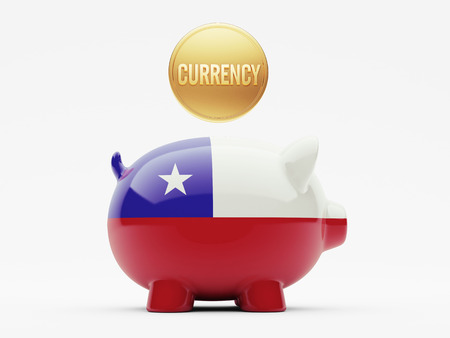 Chile High Resolution Currency Concept photo