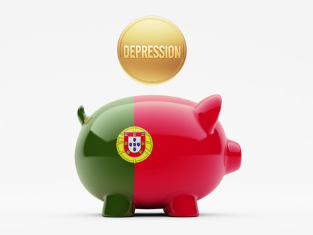 collapsing: Portugal High Resolution Depression Concept