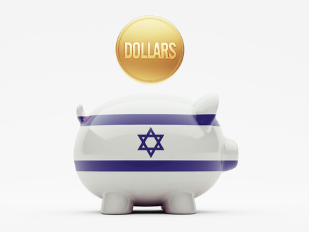Israel High Resolution Dollars Concept photo