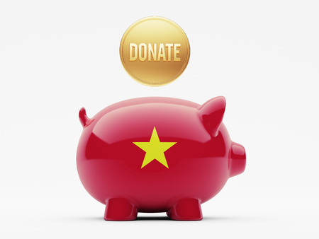 Vietnam High Resolution Donate Concept photo