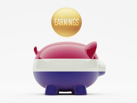 earnings: Netherlands High Resolution Earnings Concept