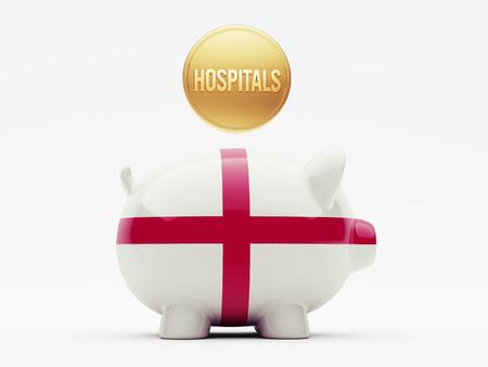England High Resolution Hospitals Concept photo
