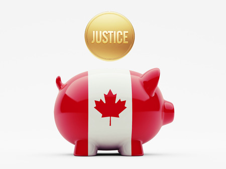 Canada High Resolution Justice Concept photo