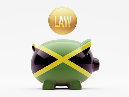 prosecution: Jamaica High Resolution Law Concept Stock Photo
