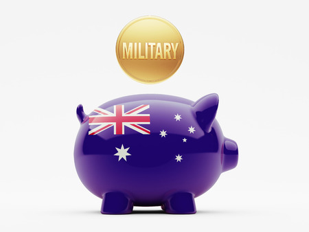 major force: Australia High Resolution Military Concept Stock Photo