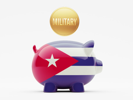 major force: Cuba High Resolution Military Concept Stock Photo