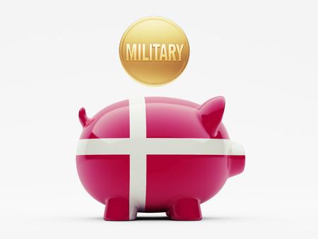 Denmark High Resolution Military Concept photo