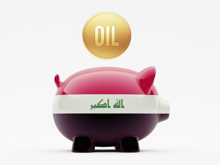 Iraq High Resolution Oil Concept