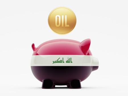 iraq money: Iraq High Resolution Oil Concept