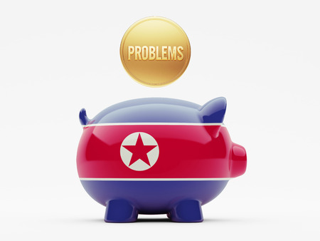 rectify: North Korea High Resolution Problems Concept Stock Photo