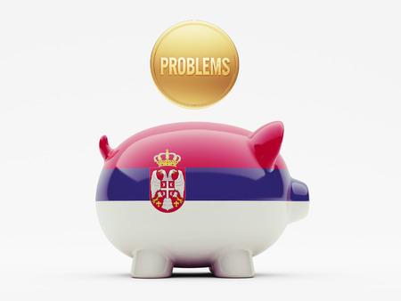 rectify: Serbia Alta Risoluzione Problemi Concetto Archivio Fotografico
