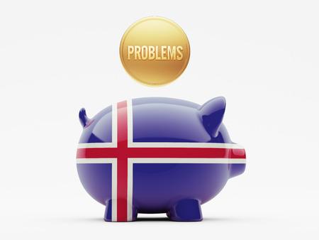 rectify: Islanda Alta Risoluzione Problemi Concetto Archivio Fotografico