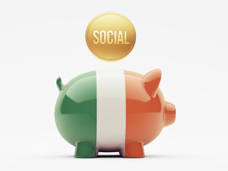 convivial: Ireland High Resolution Social Concept Stock Photo