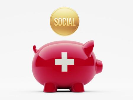 societal: Switzerland High Resolution Social Concept
