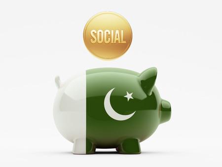 societal: Pakistan High Resolution Social Concept