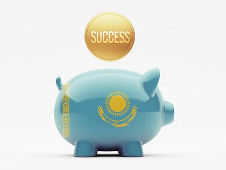 kazakhstan: Kazakhstan High Resolution Success Concept