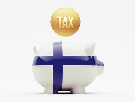 Finland High Resolution Tax Concept photo