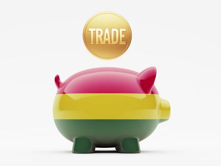 Bolivia High Resolution Trade Concept photo