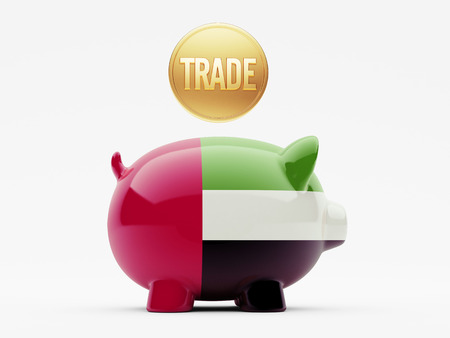United Arab Emirates  High Resolution Trade Concept photo