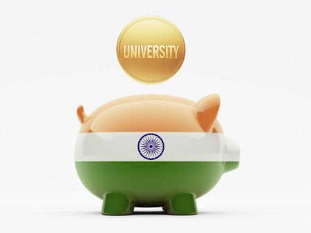 India High Resolution University Concept photo