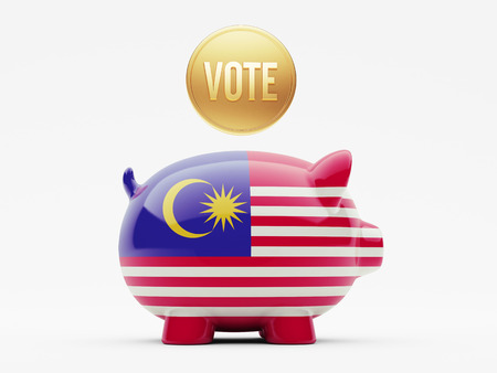 Malaysia High Resolution Vote Concept