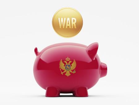 tussle: Montenegro  High Resolution War Concept