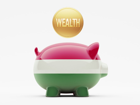 Hungary High Resolution Wealth Concept