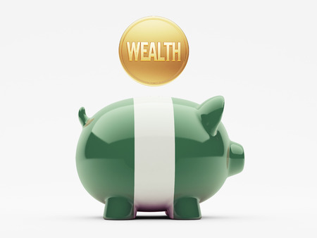 Nigeria  High Resolution Wealth Concept