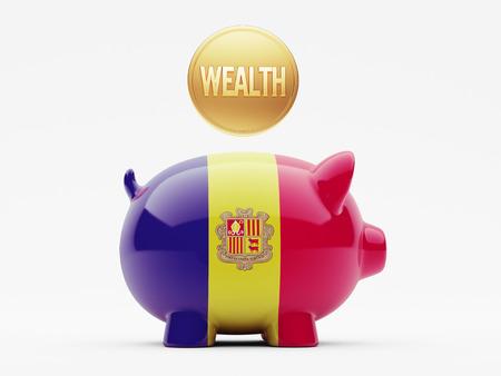 Andorra High Resolution Wealth Concept
