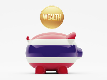 weal: Thailand High Resolution Wealth Concept
